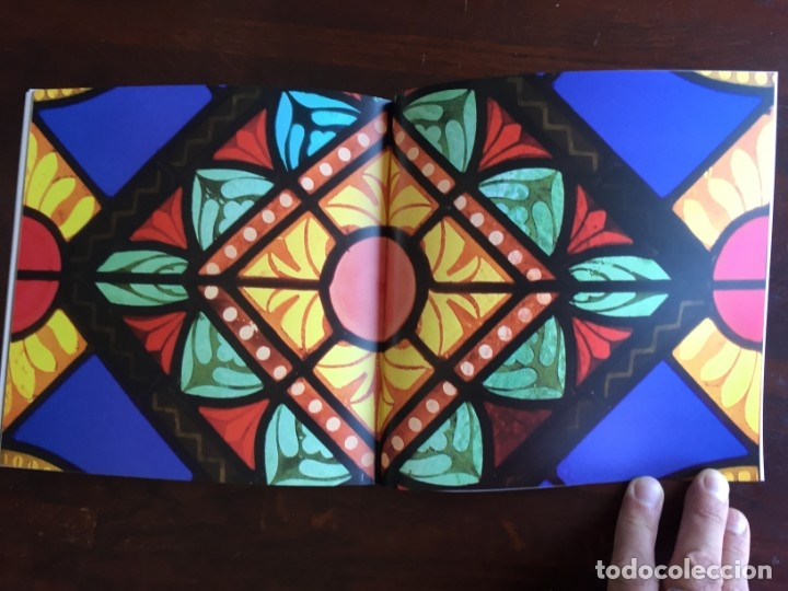 Libros: Els vitralls del Cambril de Montserra, repaso histórico he ilustrado de los vitralls del camarín - Foto 12 - 175799339