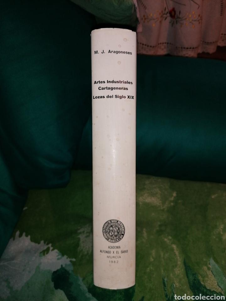 Libros: LOZAS CARTAGENERAS DEL SIGLO XIX. - Foto 2 - 176990720