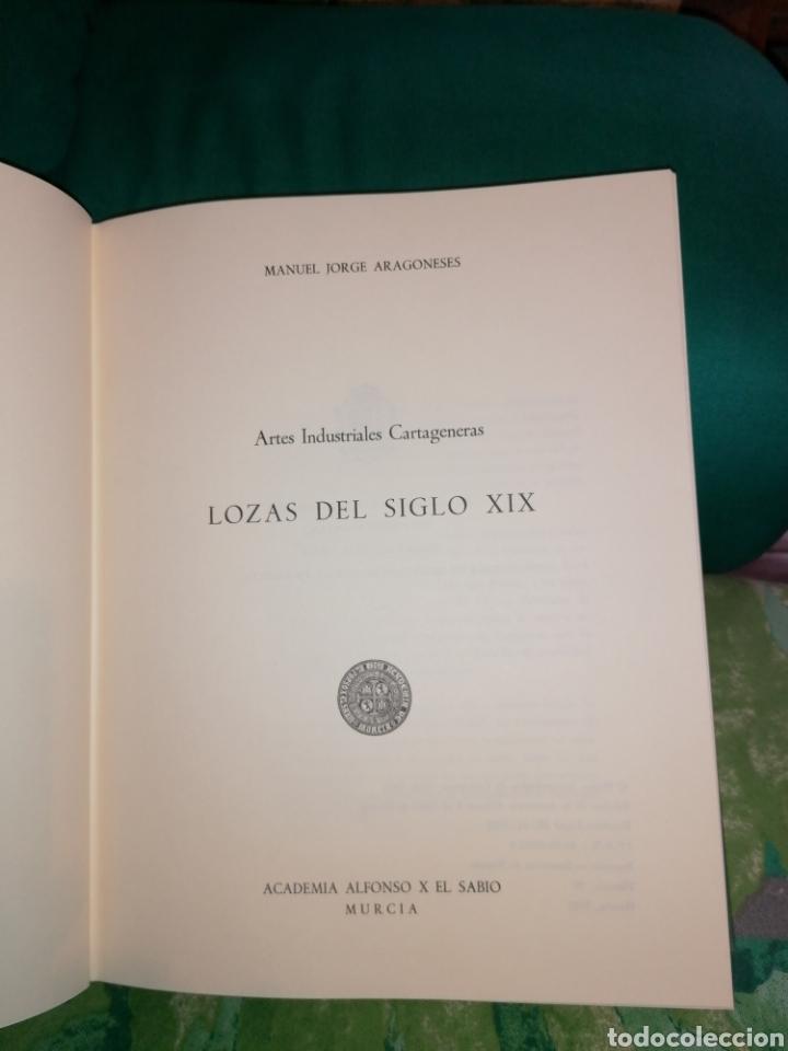 Libros: LOZAS CARTAGENERAS DEL SIGLO XIX. - Foto 8 - 176990720
