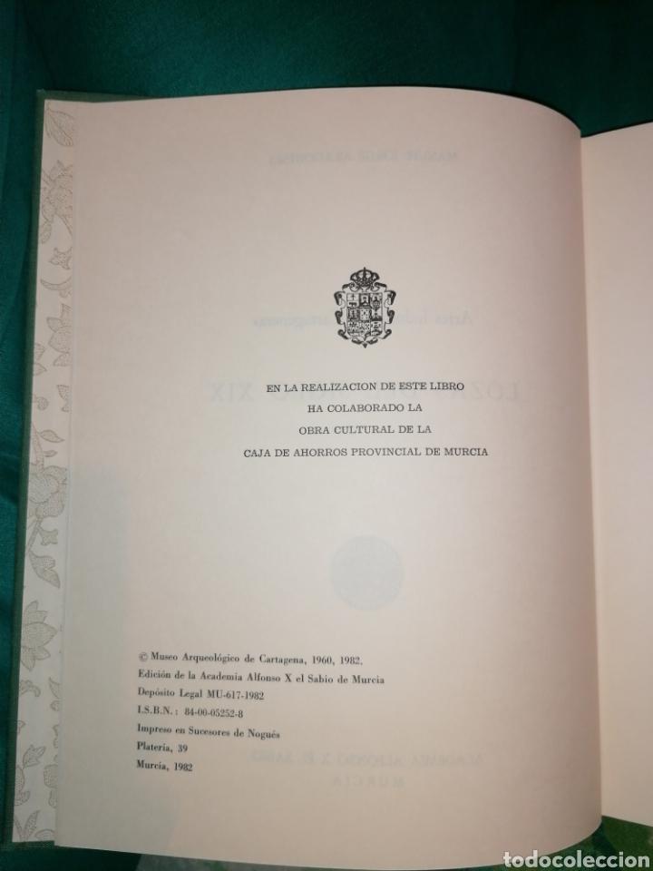 Libros: LOZAS CARTAGENERAS DEL SIGLO XIX. - Foto 9 - 176990720
