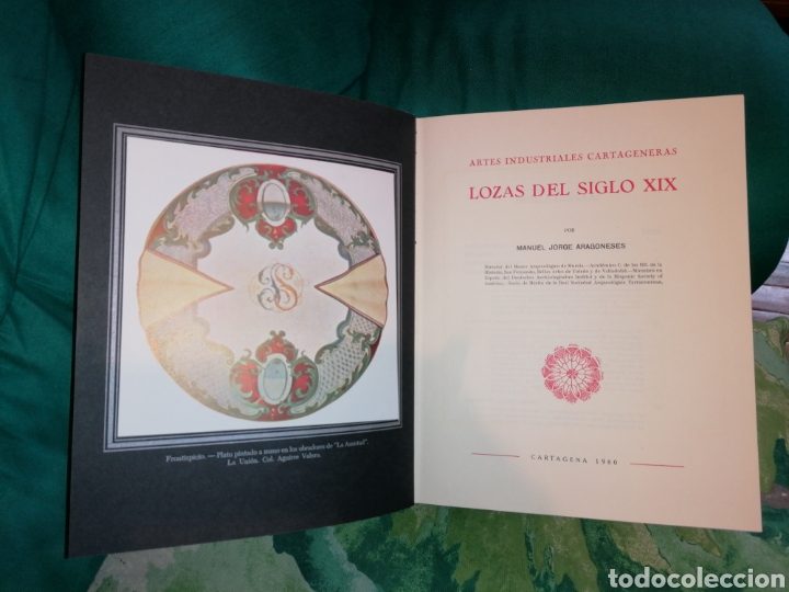 Libros: LOZAS CARTAGENERAS DEL SIGLO XIX. - Foto 10 - 176990720