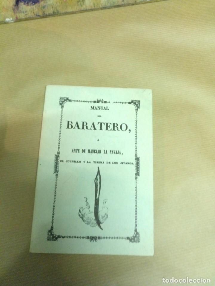 BARATERO ARTE DE MANEJAR LA NAVAJA (Libros Nuevos - Bellas Artes, ocio y coleccionismo - Artesanía y Manualidades)