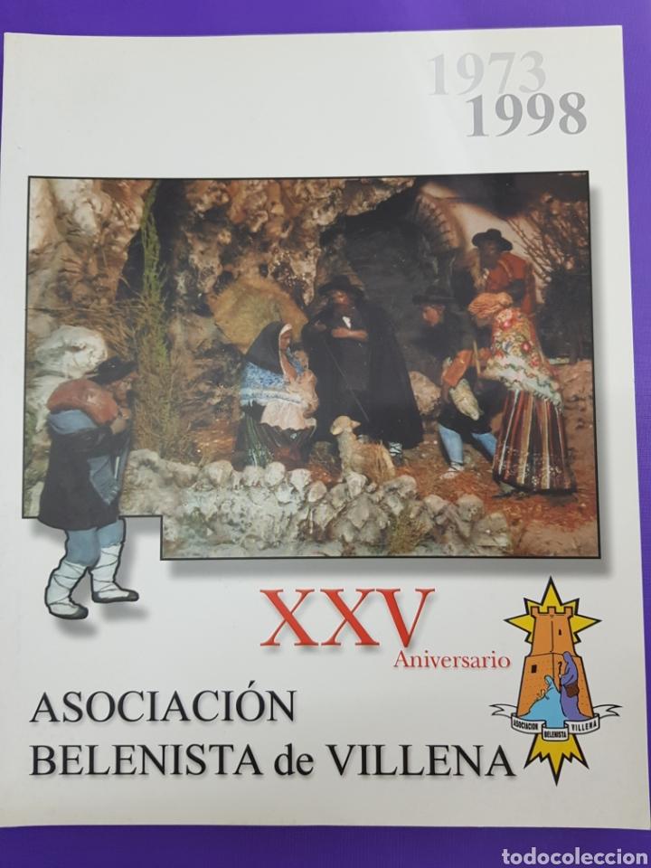 XXV ANIVERSARIO , ASOCIACION BELENISTA DE VILLENA , 1973-1998 (Libros Nuevos - Bellas Artes, ocio y coleccionismo - Artesanía y Manualidades)