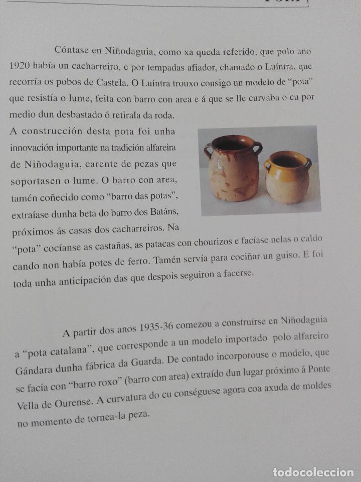 Libros: A LOUZA TRADICIONAL DE NIÑODAGUIA-DIPUTACION DE OURENSE 1995--BUEN ESTADO-VER FOTOS - Foto 6 - 183892436