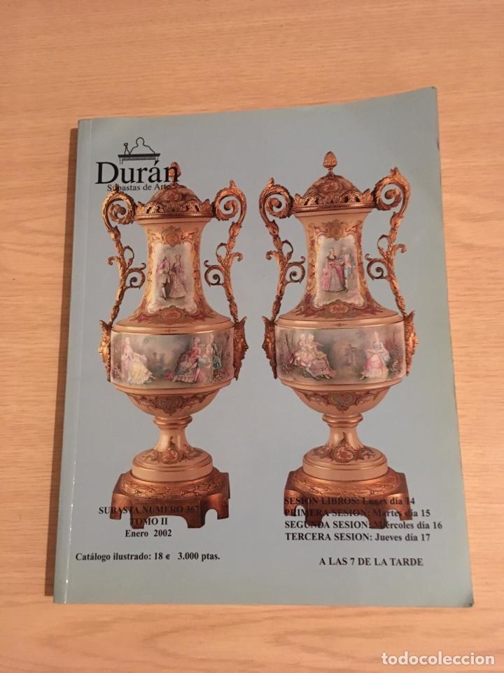 LIBRO DESUBASTAS DE ARTE DURAN (Libros Nuevos - Bellas Artes, ocio y coleccionismo - Artesanía y Manualidades)