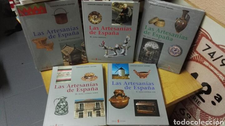LAS ARTESANÍAS DE ESPAÑA - COMPLETO 5 VOLÚMENES (Libros Nuevos - Bellas Artes, ocio y coleccionismo - Artesanía y Manualidades)