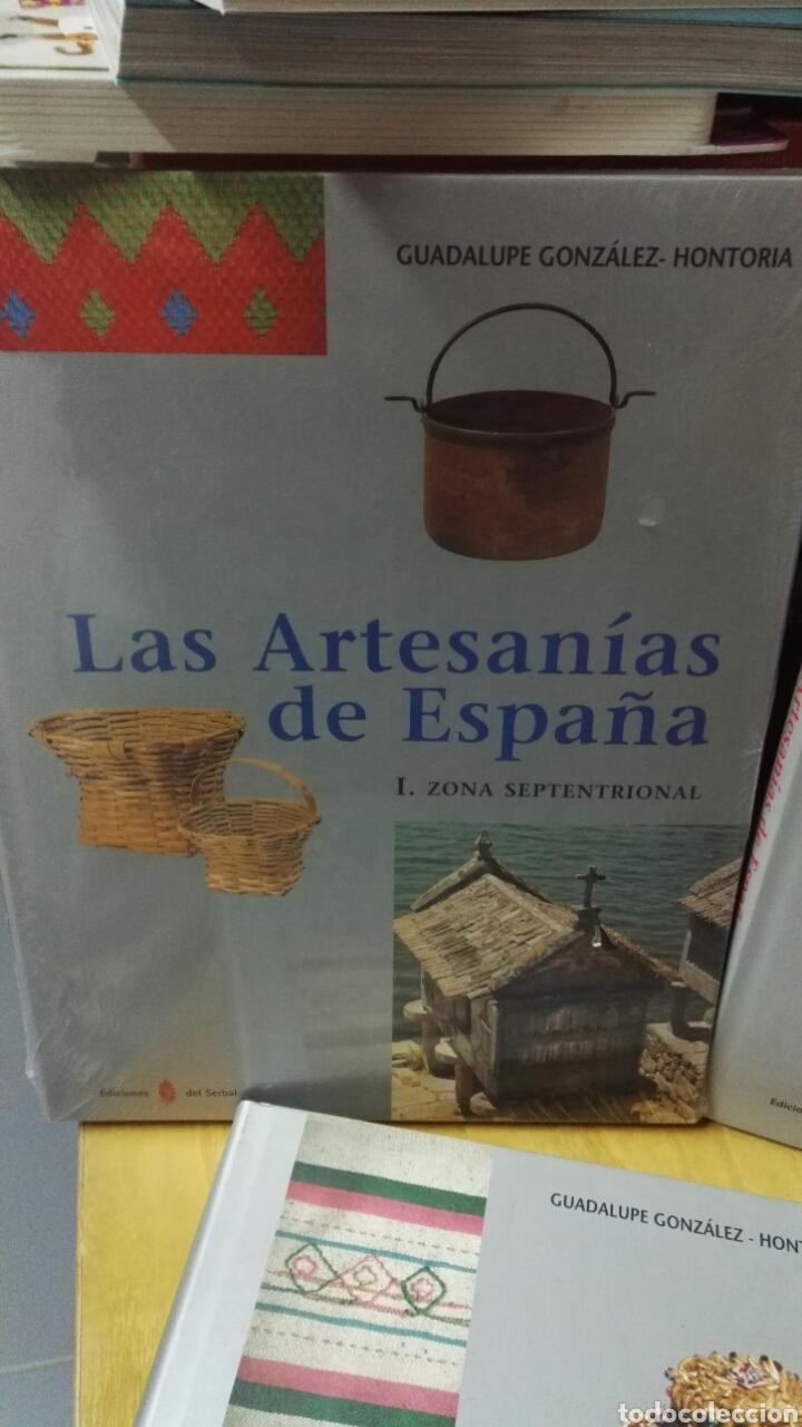 Libros: Las artesanías de España - Completo 5 volúmenes - Foto 2 - 188249425