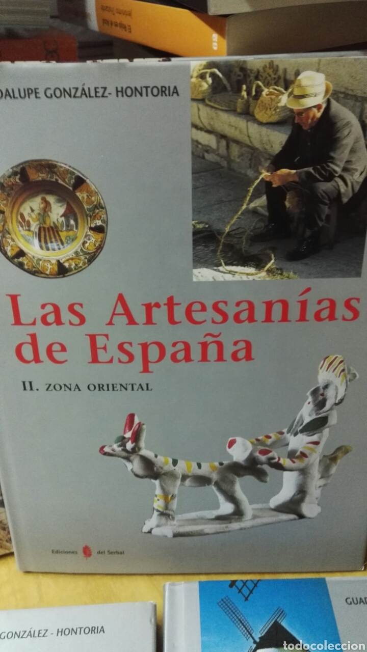 Libros: Las artesanías de España - Completo 5 volúmenes - Foto 3 - 188249425