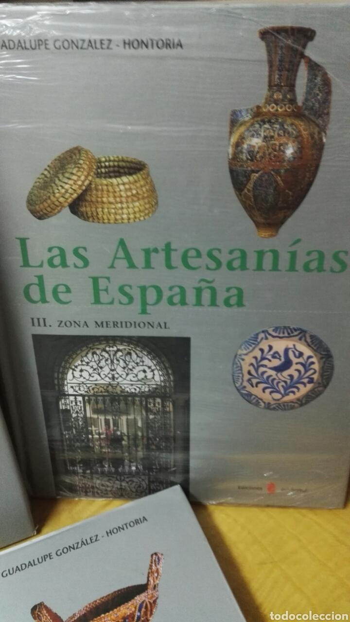 Libros: Las artesanías de España - Completo 5 volúmenes - Foto 4 - 188249425