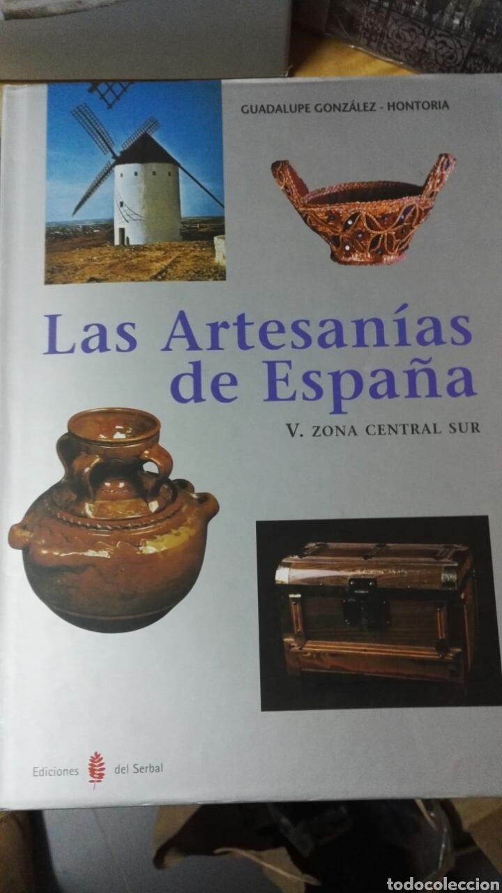 Libros: Las artesanías de España - Completo 5 volúmenes - Foto 5 - 188249425