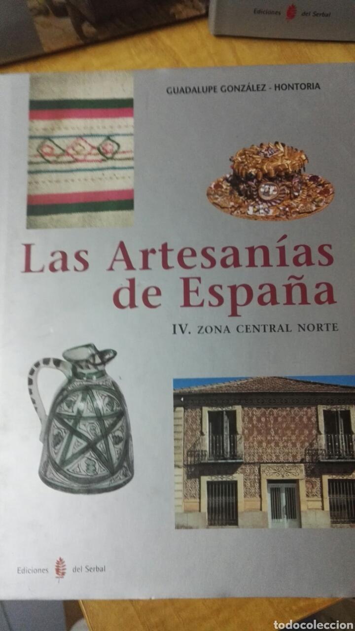 Libros: Las artesanías de España - Completo 5 volúmenes - Foto 6 - 188249425