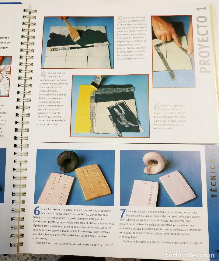Libros: Cerámica - Steve Mattison - 2 libros en uno- Acento Ed. - Foto 2 - 191979008
