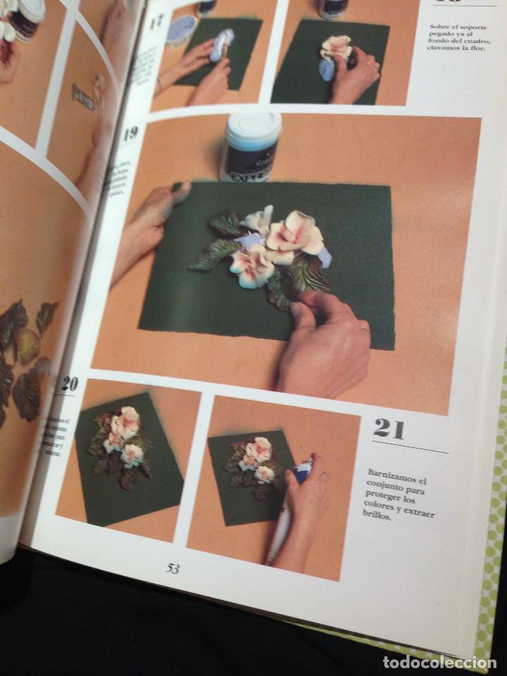 Libros: Enciclopedia de las manualidades.Pasta maiz. Año 1993. - Foto 3 - 192017145