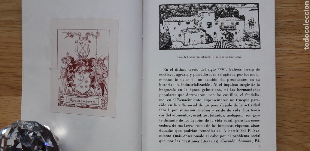Libros: BIBLIOFILOS GALLEGOS,IV, SARGADELOS, JOSE FILGUEIRA VALVERDE, - Foto 3 - 192971486