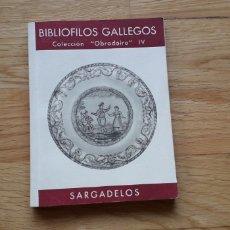 Libros: BIBLIOFILOS GALLEGOS,IV, SARGADELOS, JOSE FILGUEIRA VALVERDE,. Lote 192971486