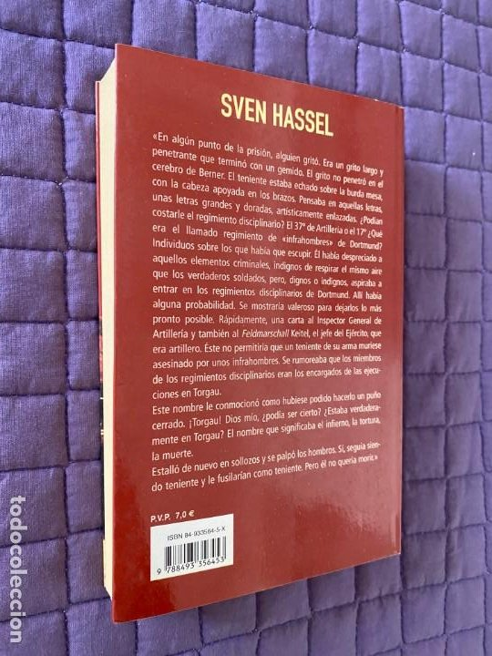 Libros: BATALLON DE CASTIGO de SVEN HASSEL - Foto 4 - 196770853