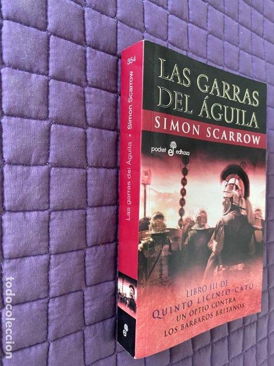 Libros: LAS GARRAS DEL AGUILA DE SIMON SCARROW - Foto 2 - 196771310