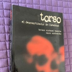 Libros: TORSO EL DESCUARTIZADOR DE CLEVELAND - NOVELA GRAFICA POR BRIAN MICHAEL BENDIS, MARC ANDREYKO. Lote 196771711