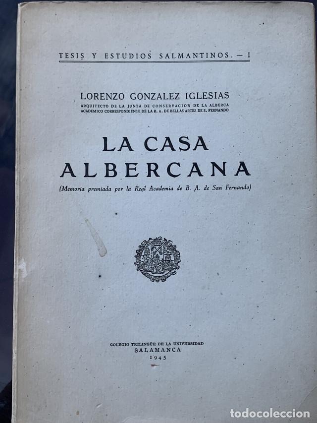 LA CASA ALBERCANA (MEMORIA PREMIADA POR LA REAL ACADEMIA DE B.A. DE SAN FERNANDO) (Libros Nuevos - Bellas Artes, ocio y coleccionismo - Artesanía y Manualidades)