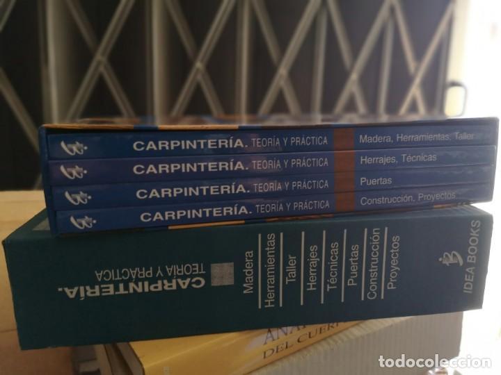 Libros: Carpintería, Teoria y Practica - 4 tomos - Foto 2 - 207430516