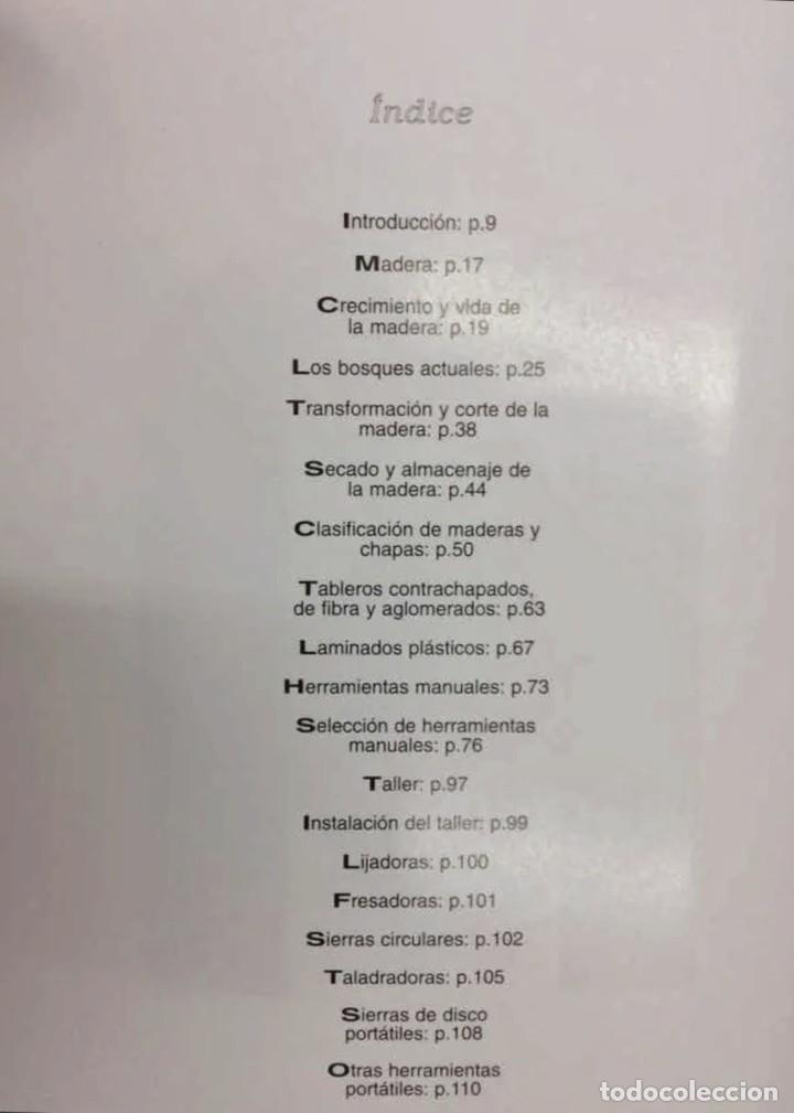 Libros: Carpintería, Teoria y Practica - 4 tomos - Foto 4 - 207430516