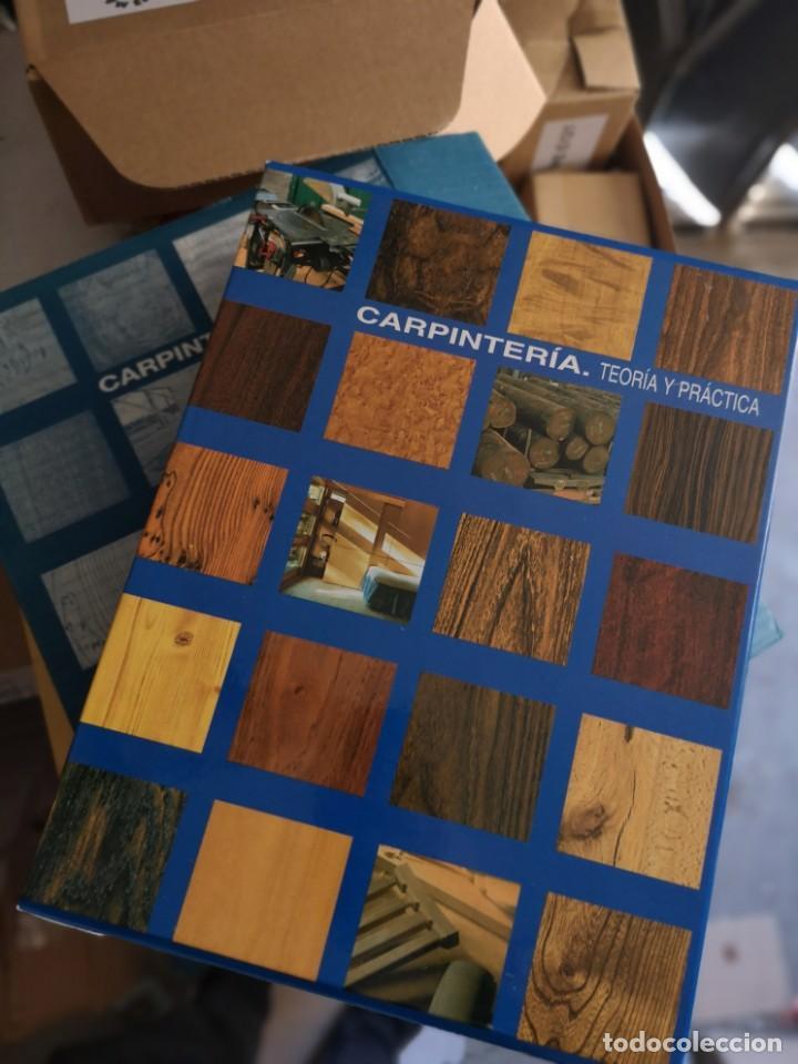 CARPINTERÍA, TEORIA Y PRACTICA - 4 TOMOS (Libros Nuevos - Bellas Artes, ocio y coleccionismo - Artesanía y Manualidades)