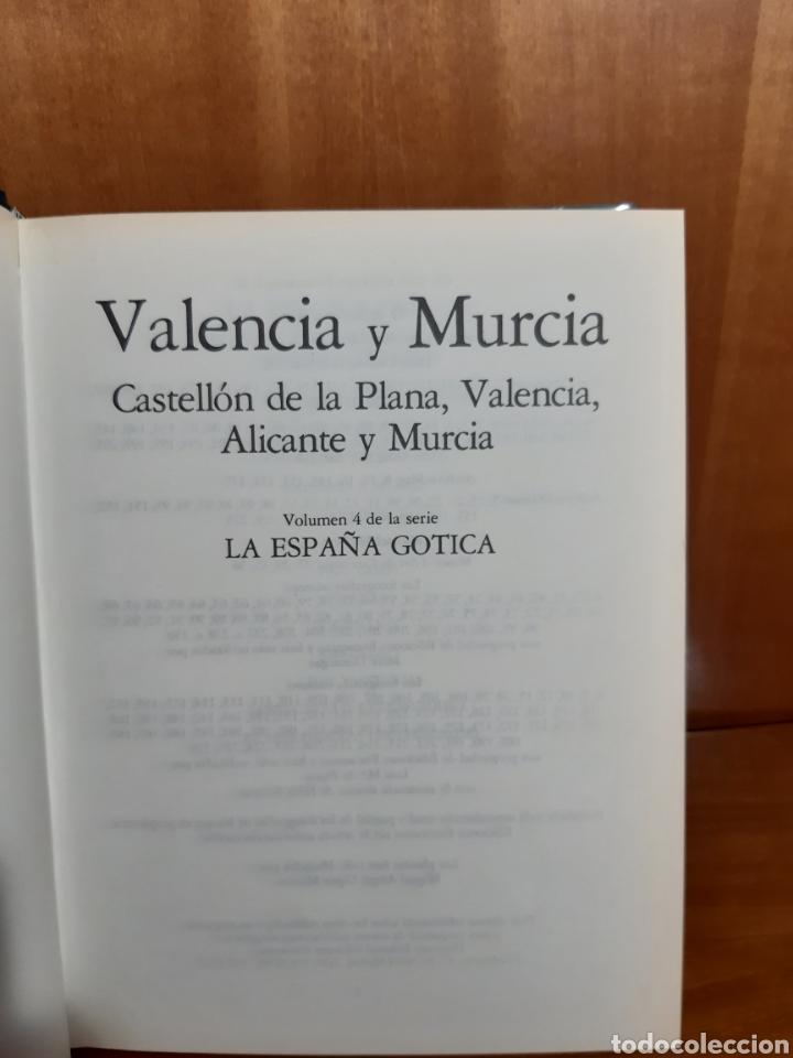 Libros: Valencia de Murcia la España gótica Juan Sureda Pons - Foto 3 - 209233065