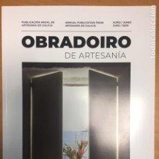 Libros: OBRADOIRO DE ARTESANÍA. PUBLICACIÓN ANUAL DE ARTESANÍA DE GALICIA. Nº 18. 2020. Lote 210624046