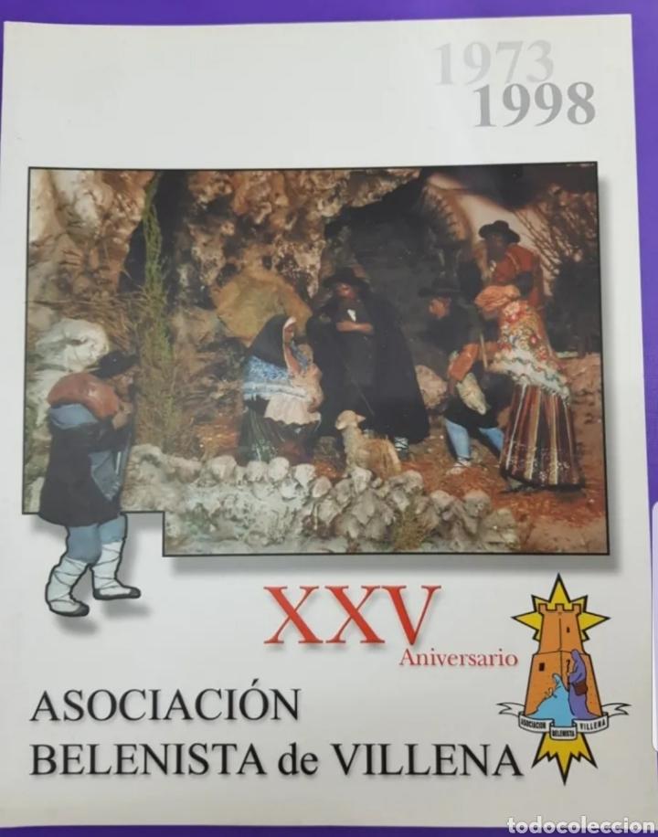 XXV ANIVERSARIO REVISTA ASOCIACIÓN DE BELENISTAS DE VILLENA , 1973-1998 (Libros Nuevos - Bellas Artes, ocio y coleccionismo - Artesanía y Manualidades)