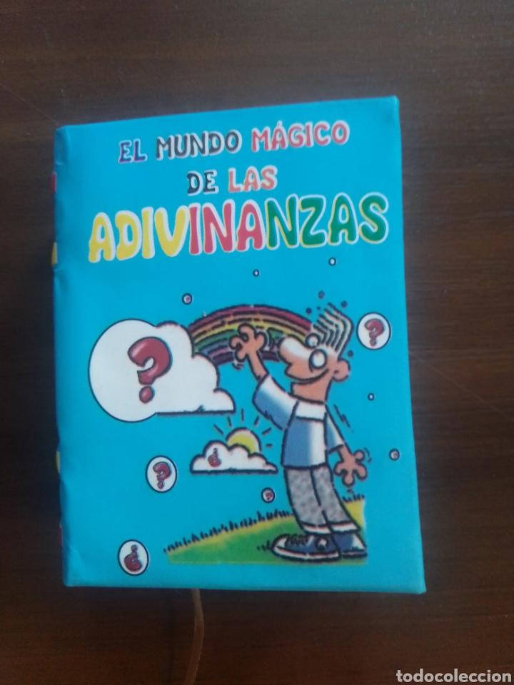 EL MUNDO MÁGICO DE LAS ADIVINANZAS (Libros Nuevos - Bellas Artes, ocio y coleccionismo - Artesanía y Manualidades)