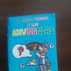 Libros: EL MUNDO MÁGICO DE LAS ADIVINANZAS. Lote 218579361
