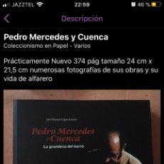Libros: PEDRO MERCEDES. Lote 220522550
