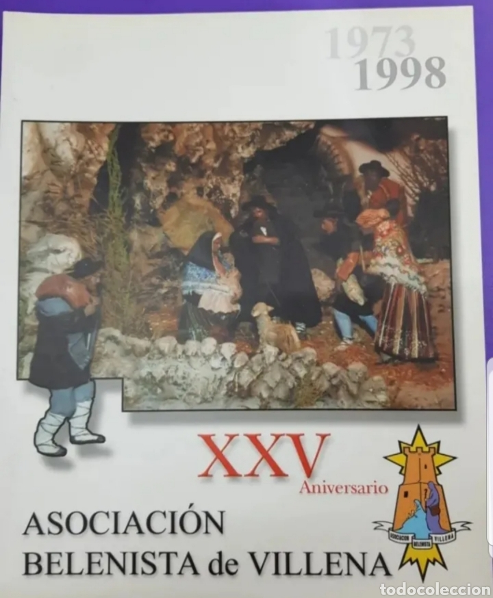 XXV ANIVERSARIO REVISTA ASOCIACIÓN DE BELENISTAS DE VILLENA ,AÑO 1973-1988 (Libros Nuevos - Bellas Artes, ocio y coleccionismo - Artesanía y Manualidades)