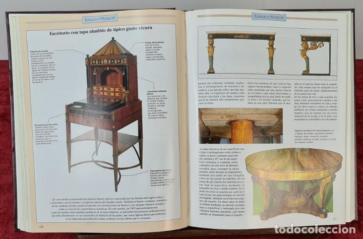 Libros: GUIA PRÁCTICA DE LAS ANTIGÜEDADES Y RESTAURACIÓN. PLANETA DE AGOSTINI. 9 VOL. 1993. - Foto 3 - 221741445