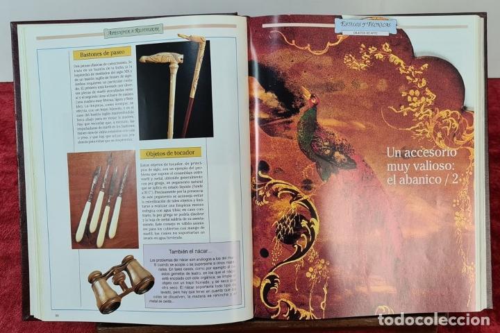 Libros: GUIA PRÁCTICA DE LAS ANTIGÜEDADES Y RESTAURACIÓN. PLANETA DE AGOSTINI. 9 VOL. 1993. - Foto 4 - 221741445