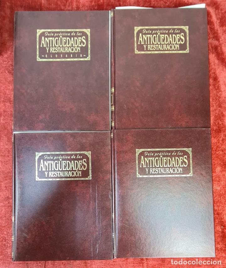 Libros: GUIA PRÁCTICA DE LAS ANTIGÜEDADES Y RESTAURACIÓN. PLANETA DE AGOSTINI. 9 VOL. 1993. - Foto 8 - 221741445