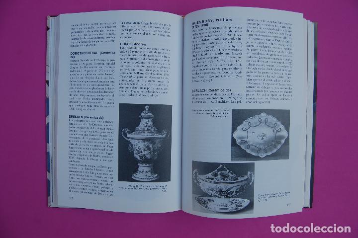 Libros: Porcelana, Cerámica y Cristal. Diccionarios Antiqvaria. - Foto 3 - 223953266
