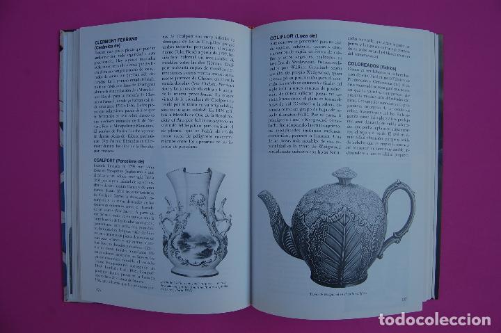 Libros: Porcelana, Cerámica y Cristal. Diccionarios Antiqvaria. - Foto 4 - 223953266