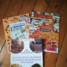 Libros: ESTARCIDO, TÉCNICAS. Lote 244537315