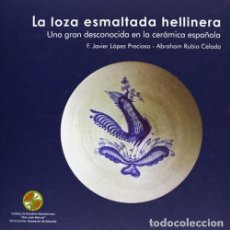 Livres: LA LOZA ESMALTADA HELLINERA : UNA GRAN DESCONOCIDA EN LA CERÁMICA ESPAÑOLA. 978-84-96800-28-1. Lote 259866790