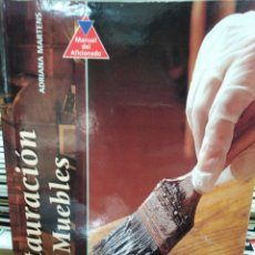 Libros: RESTAURACIÓN DE MUEBLES-ADRIANA MARTENS-EDITA SUSAETA 1999 ILUSTRADO. Lote 260064770