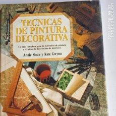 Libros: TÉCNICAS DE PINTURA DECORATIVA.. Lote 261174720