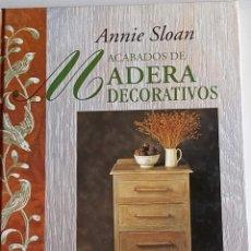 Libros: ACABADOS DE MADERA DECORATIVAS. Lote 261176240