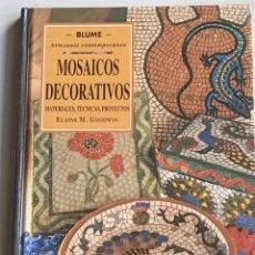Libros: MOSAICOS DECORATIVOS.. Lote 261971240