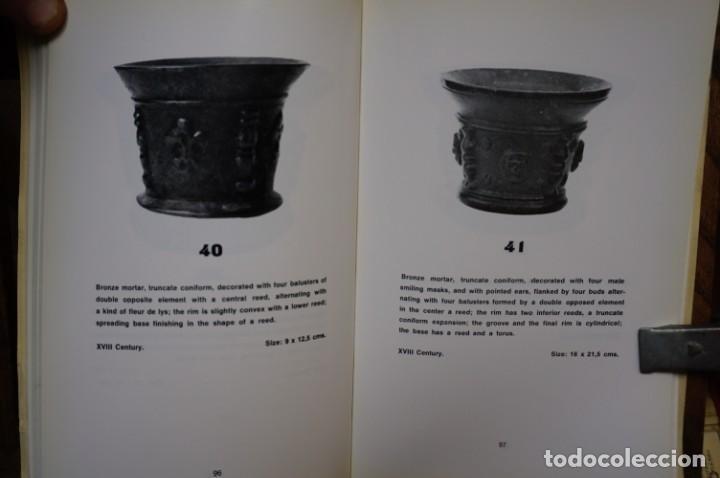 Libros: bofill francisco de p. catalogue of mortars.8morteros).perelada palace collection. - Foto 2 - 265923223