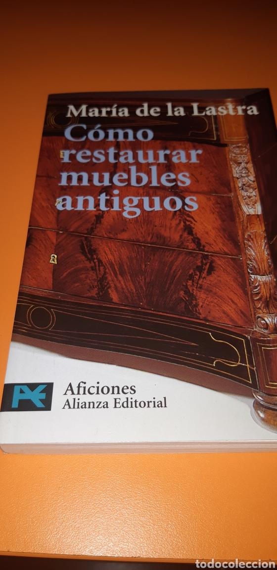 LIBRO COMO RESTAURAR MUEBLES ANTIGUOS (Libros Nuevos - Bellas Artes, ocio y coleccionismo - Artesanía y Manualidades)