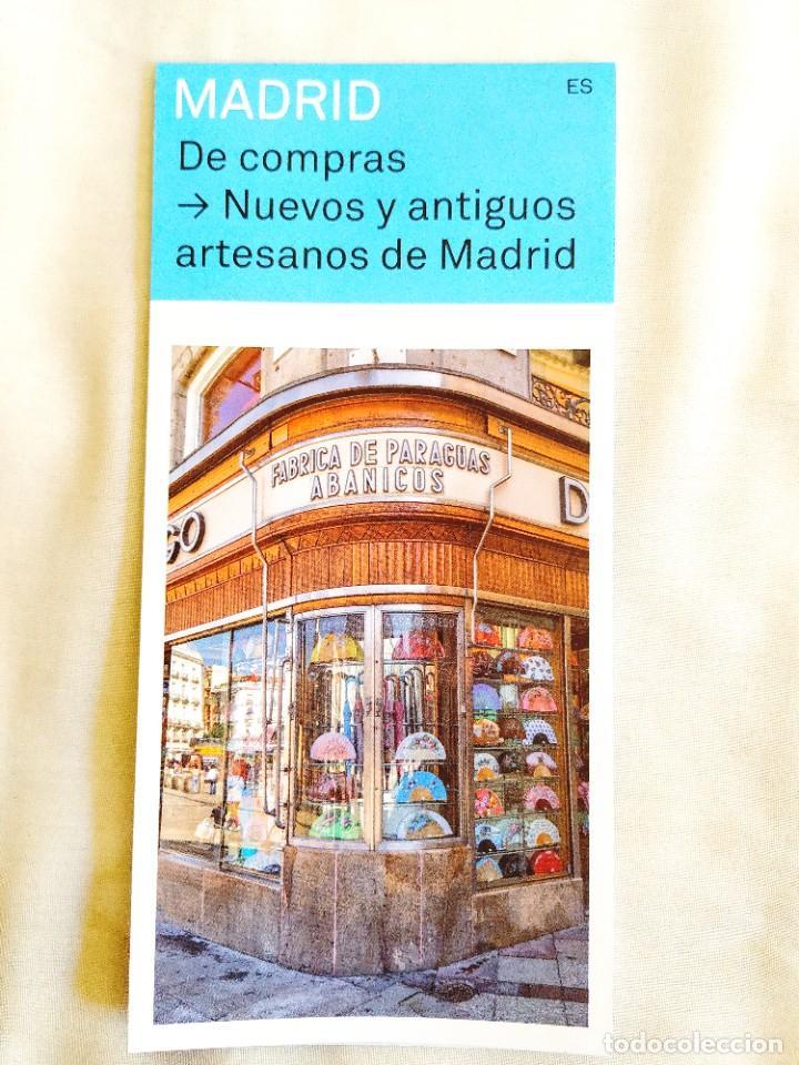 Libros: NUEVOS Y ANTIGUOS ARTESANOS DE MADRID - DOBLE PLANO - NUEVO - Foto 3 - 267242949