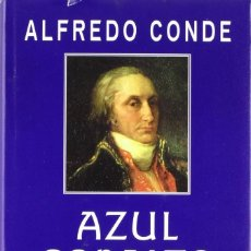 Libros: AZUL COBALTO (2001) - ANTONIO RAIMUNDO - INCLUYE CERAMICA CONMEMORATIVA - ISBN: 9788435060448. Lote 287112473