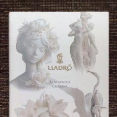 """Libros: """"LA VOLUNTAD CREADORA"""" POR VICENTE LLADRÓ - 1998 -. Lote 293370303"""