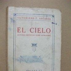 Libros: VICTORIANO ASCARZA. EL CIELO. Lote 83779724